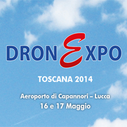 DronExpo Toscana 2014 in diretta streaming