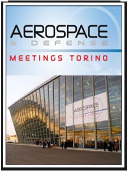 Fiera internazionale di Torino Aerospace & amp; defense 2013.
