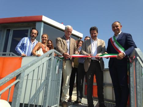 Inaugurata la nuova torre di controllo dell'aeroporto di Capannori