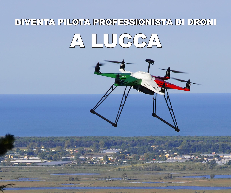 Diventa pilota professionista di Droni a Lucca, con lo sconto DronEzine