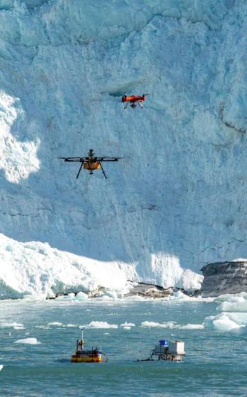 IFC vola dal Polo Nord al territorio toscano: in missione con i droni