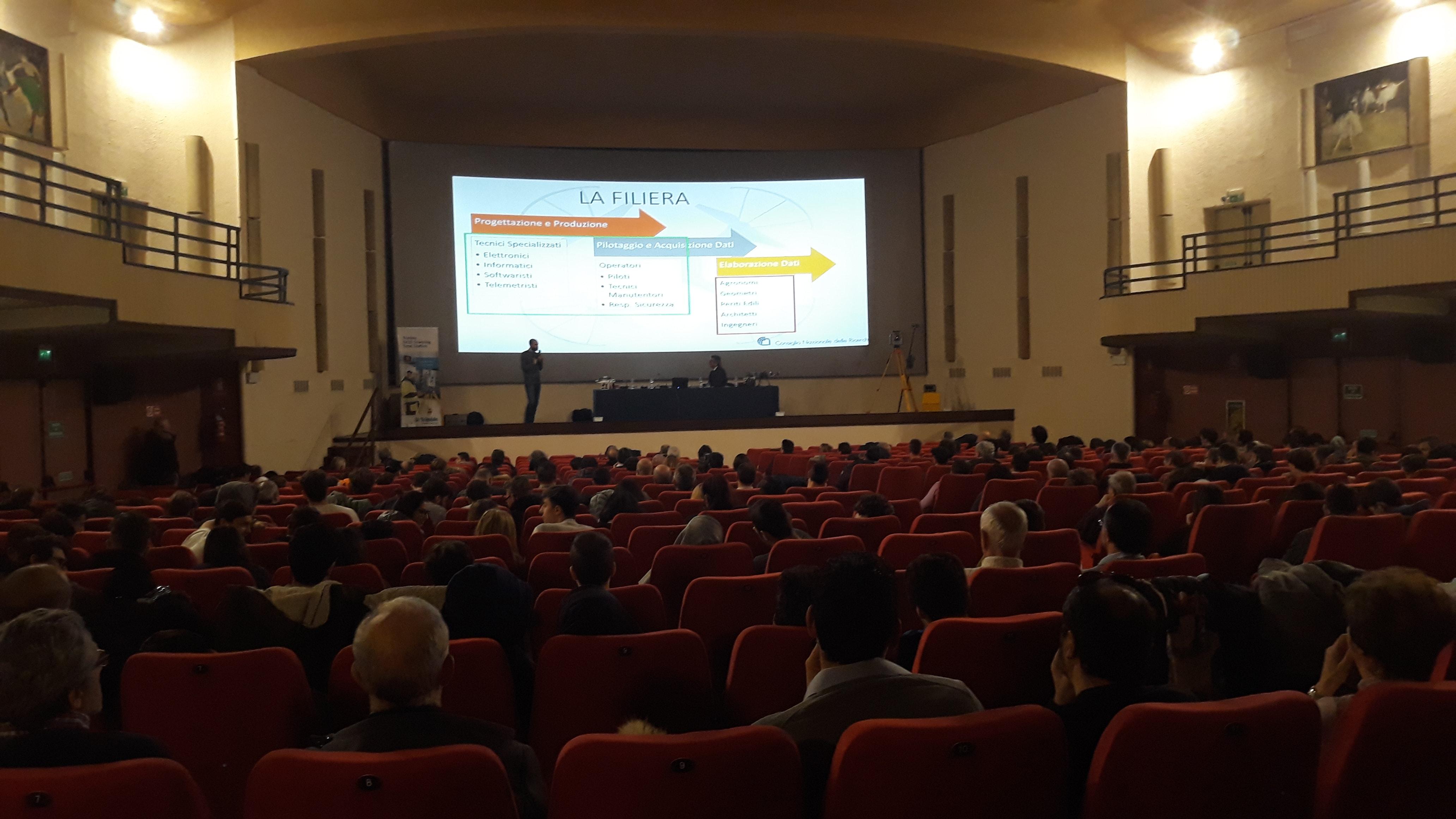 Zefiro Ricerca& Innovazione al Workshop: RILIEVOLANDO: PRESENTE E FUTURO NEI RILIEVI TOPOGRAFICI organizzato dal Collegio dei Geometri della Provincia di Lucca in collaborazione con il CNR di Pisa