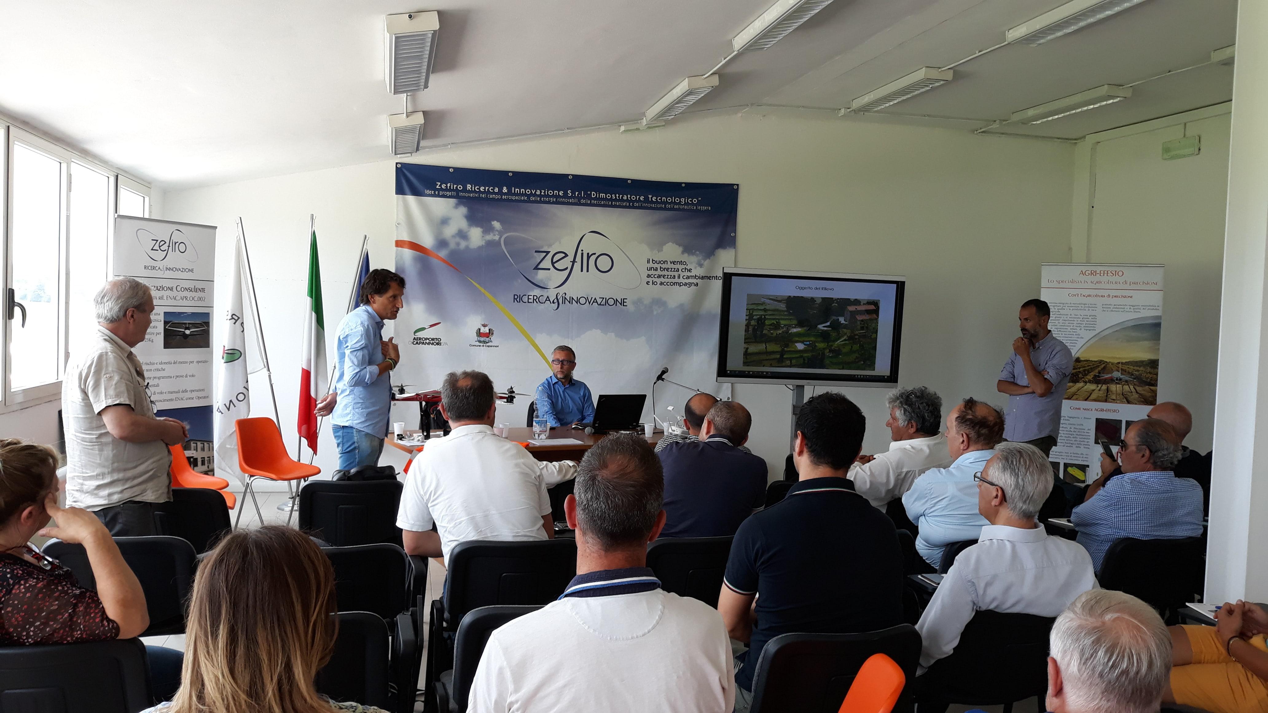 Seminario presso Zefiro R&I sui SAPR organizzato dall'Ordine degli ingegneri della provincia di Lucca